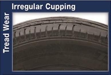 Tread Wear Irregular Cupping