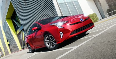 2017 Toyota Prius Red (Custom)