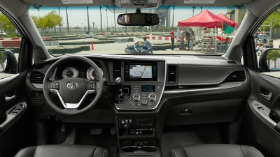 2017 Toyota Sienna Front Interior (Custom)