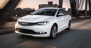 2016 Chrysler 200 driving
