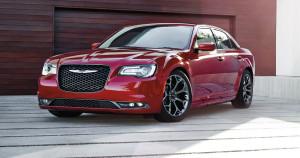 2016 Chrysler 300 parked