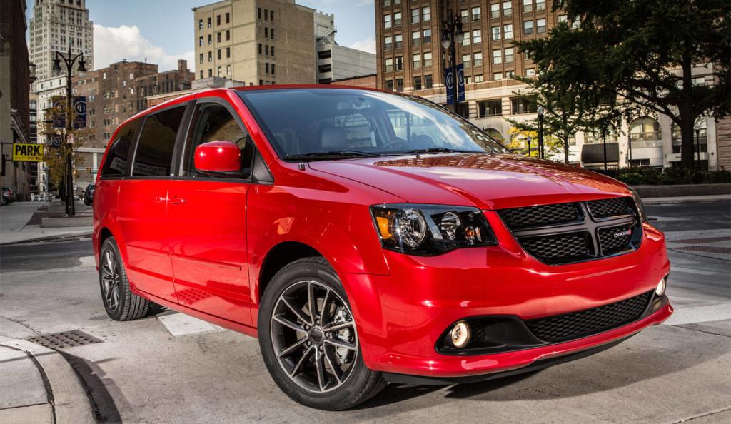 2016 Dodge Grand Caravan Blacktop Package