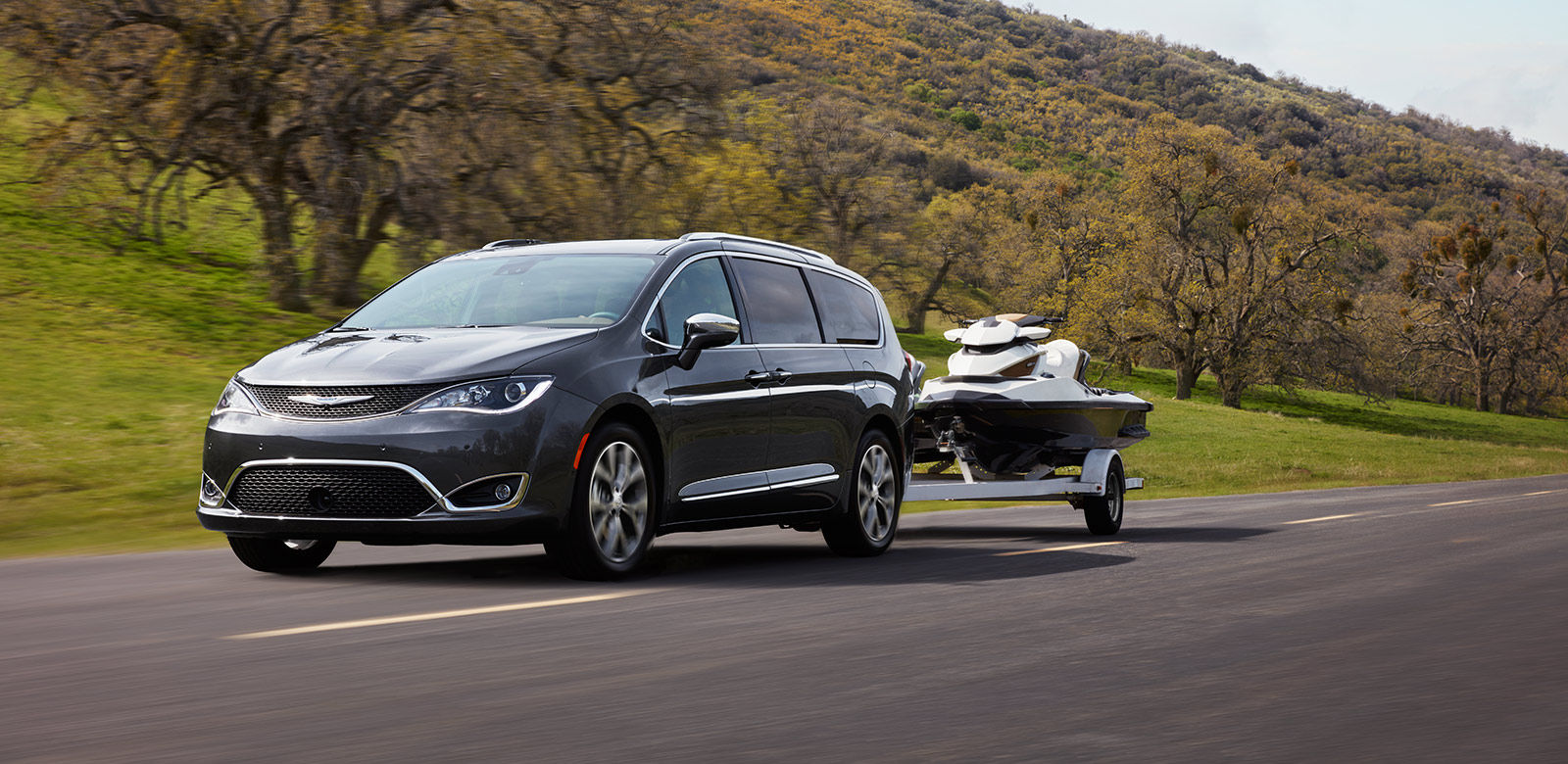 2017 Chrysler Pacifica towing