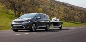 2017 Chrysler Pacifica Towiing