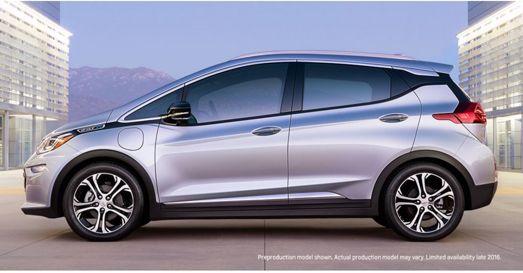Chevrolet Bolt EV Boston