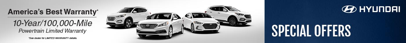 Hyundai Specials VRP
