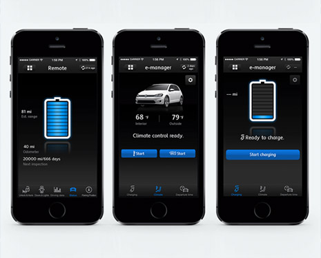 Volkswagen Car Net App