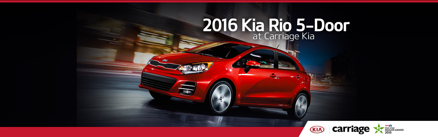 Brilliant 2016 Kia Rio 5 Door Model Overview Carriage Kia Ncnpc Chair Design For Home Ncnpcorg