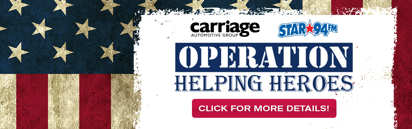 carriage kia helping heroes