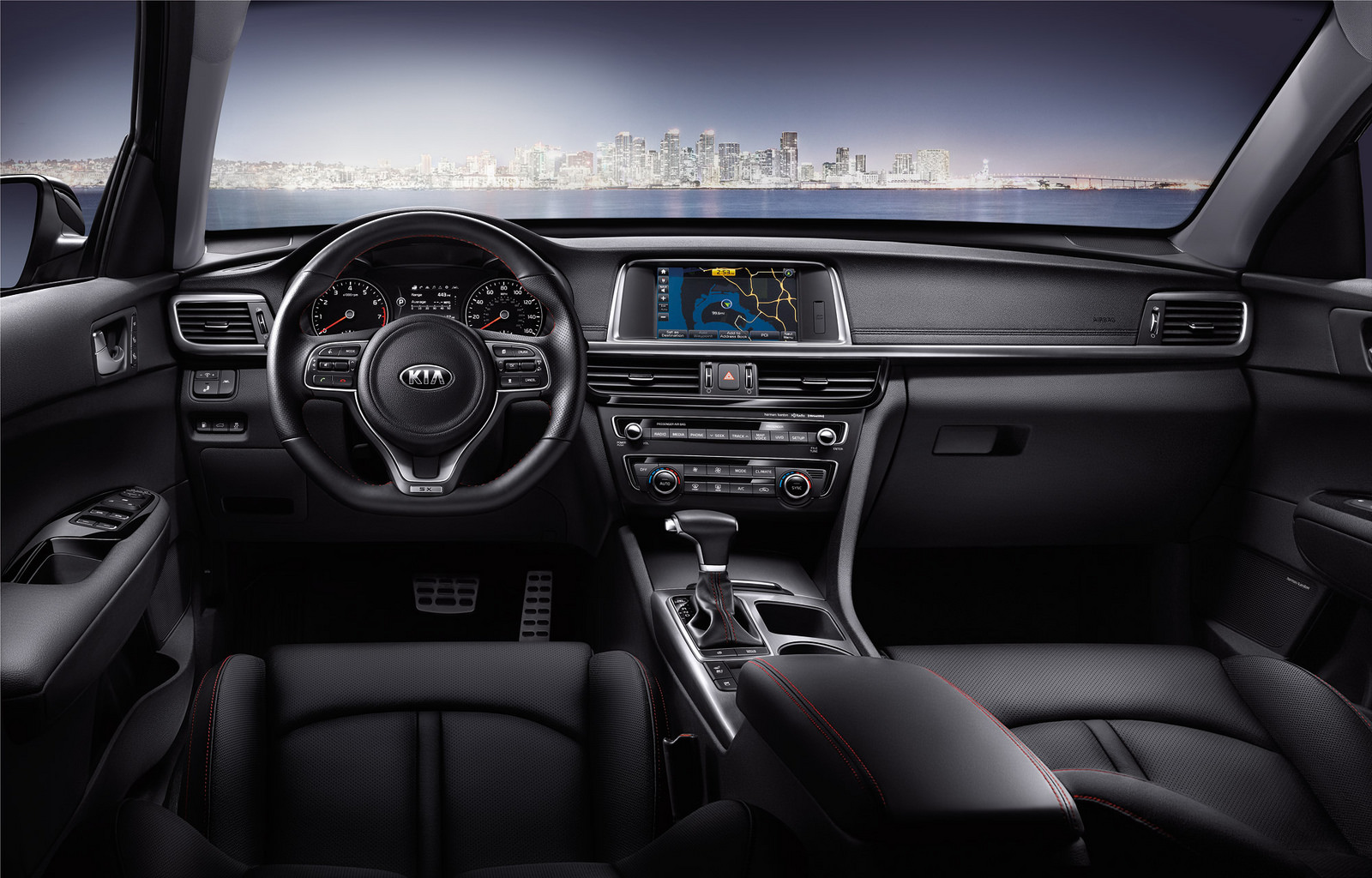 2016 Optima Interior Features