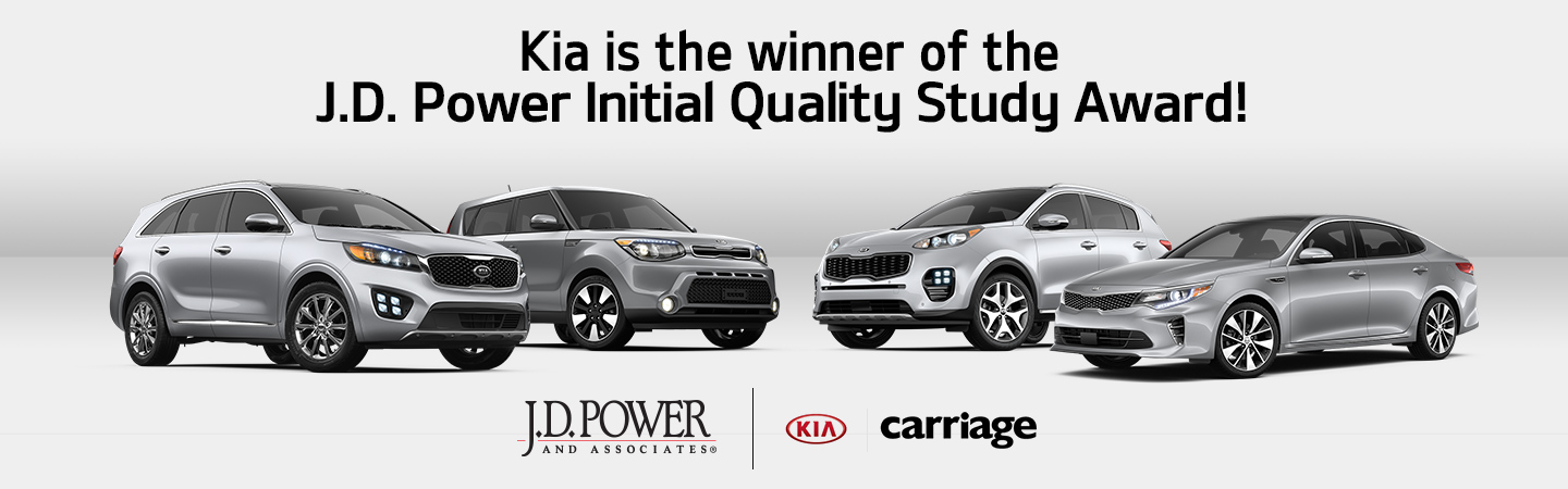Kia JD Power Award
