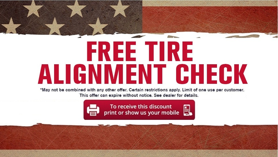 Free Tire Alignment