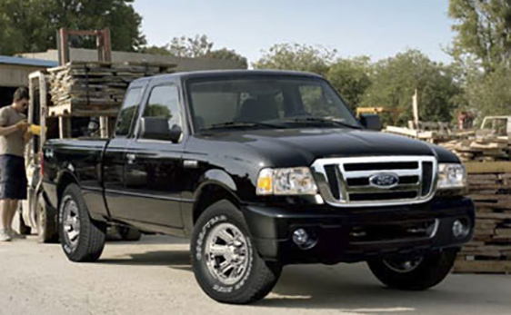 2010 Ford Ranger black