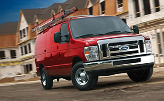 2013 Ford E 150 red