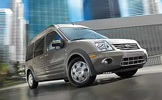2013 Ford Transit Connect front