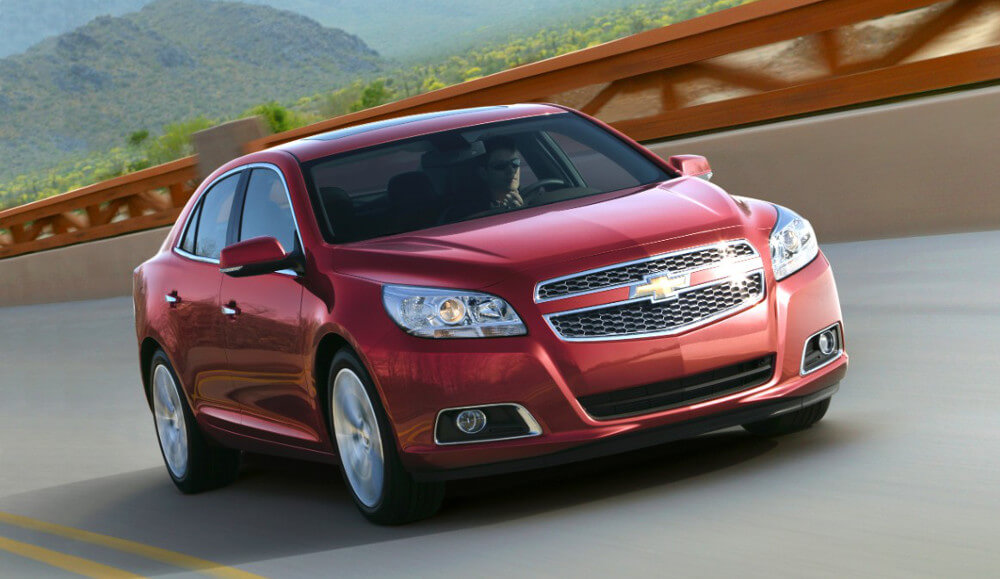2015 Chevy Malibu red