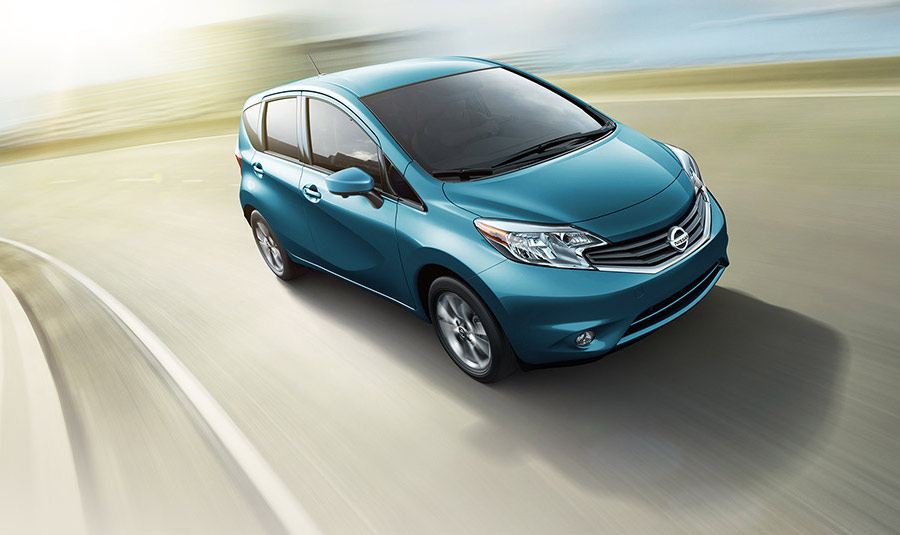 2015 Nissan Versa Note driving