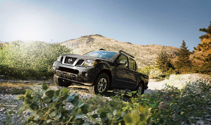 2016 Nissan Frontier driving