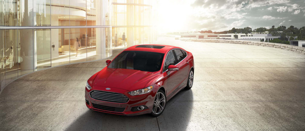 2014 Ford Fusion sunrise
