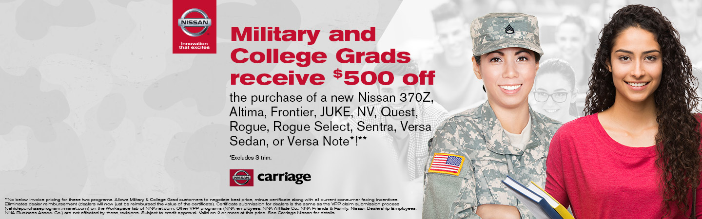 Nissan Military Discount