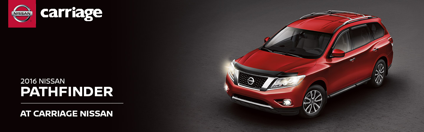 Carriage Nissan Gainesville Ga >> 2016 Nissan Pathfinder Model Overview