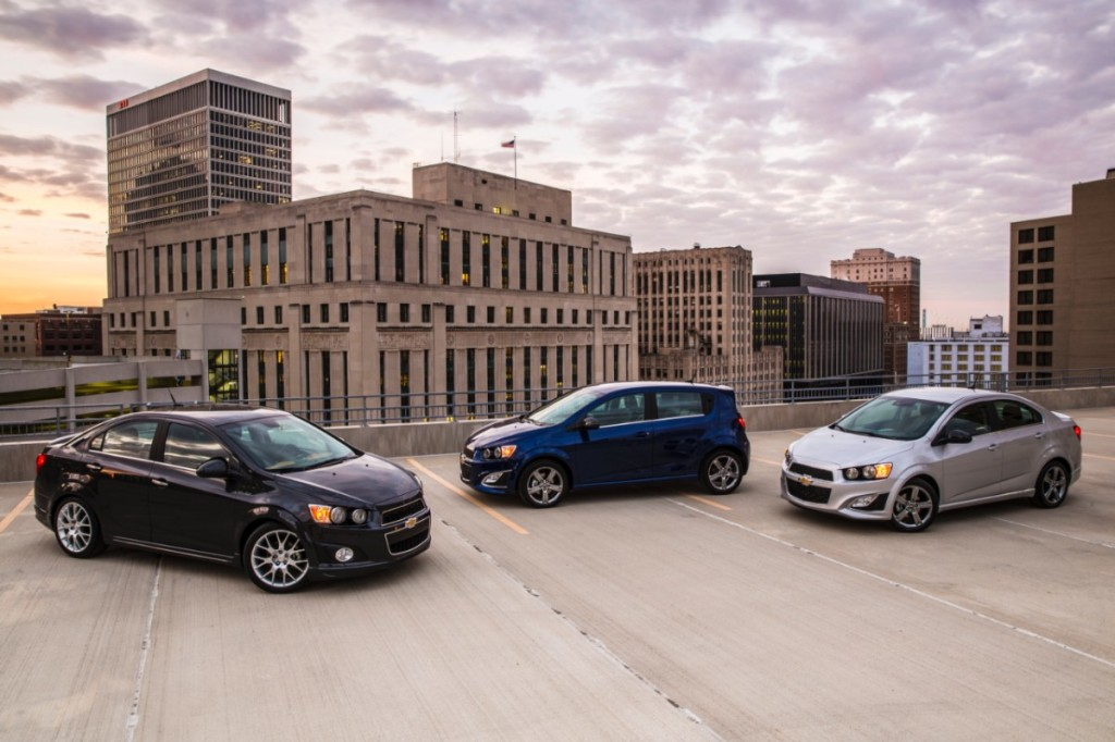 2014 Chevy  Sonic Family