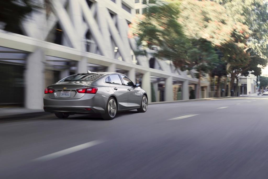 2016 Chevy Malibu Hybrid