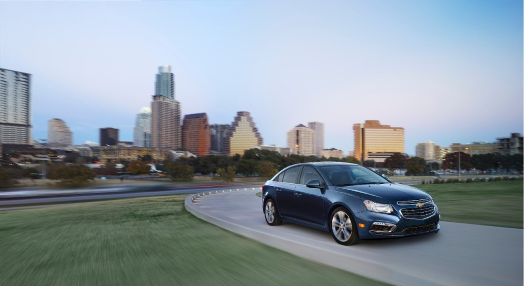 2015 Chevy Cruze City