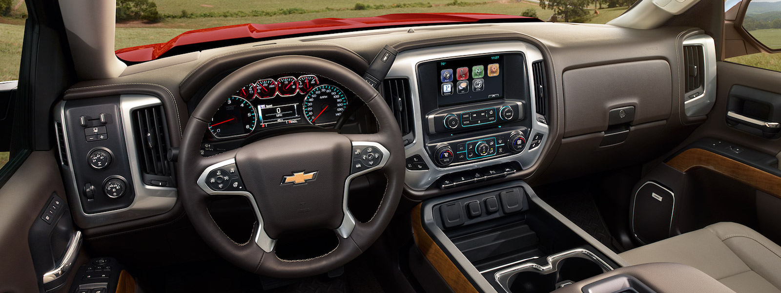Chevy Silverado Interior