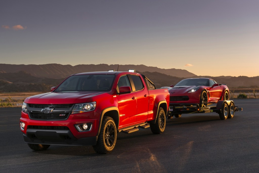 2017 Colorado Towing