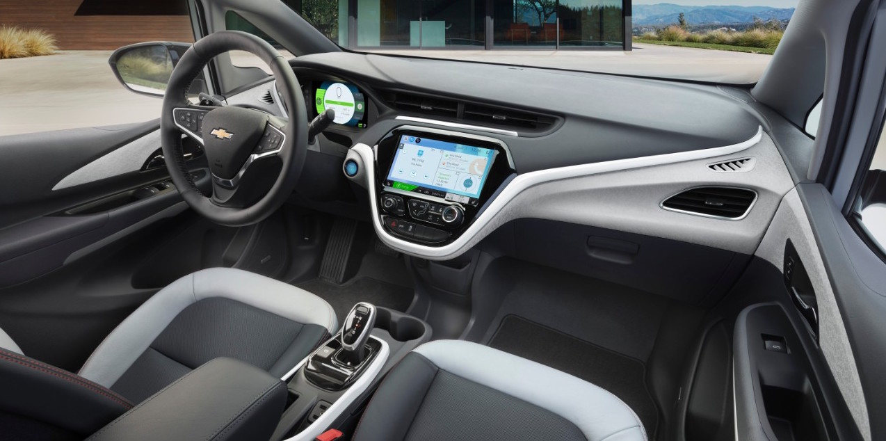 2017 Chevy Volt Performance Tech Safety Review From Chevrolet Car Interior