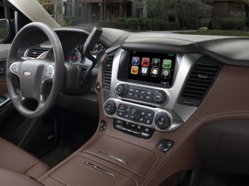 2015 Chevy Tahoe Interior