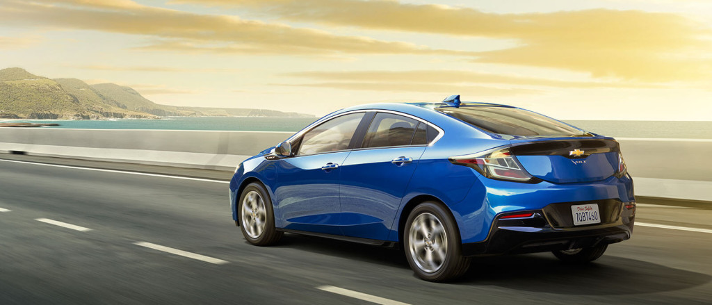 2017 Chevrolet Volt on seaway