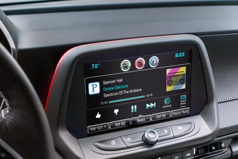 2016 Camaro Features