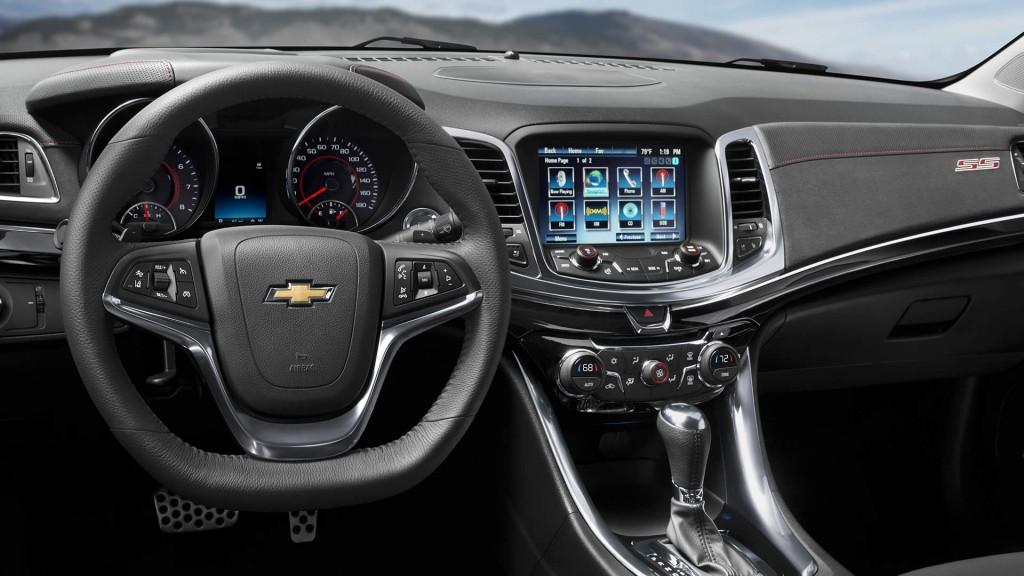2015 Chevy SS Interior