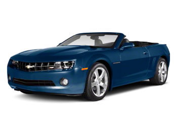2012 Camaro in blue