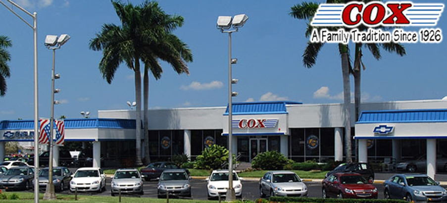 Cox Chevrolet Dealership Photo