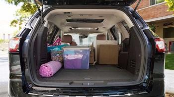 2016 Chevy Traverse Cargo