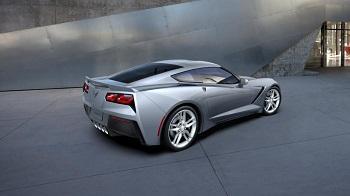 2016 Corvette Stingray Blade Silver Metallic
