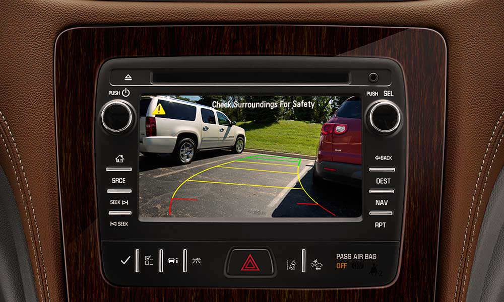 2017 Chevrolet Traverse safety tech