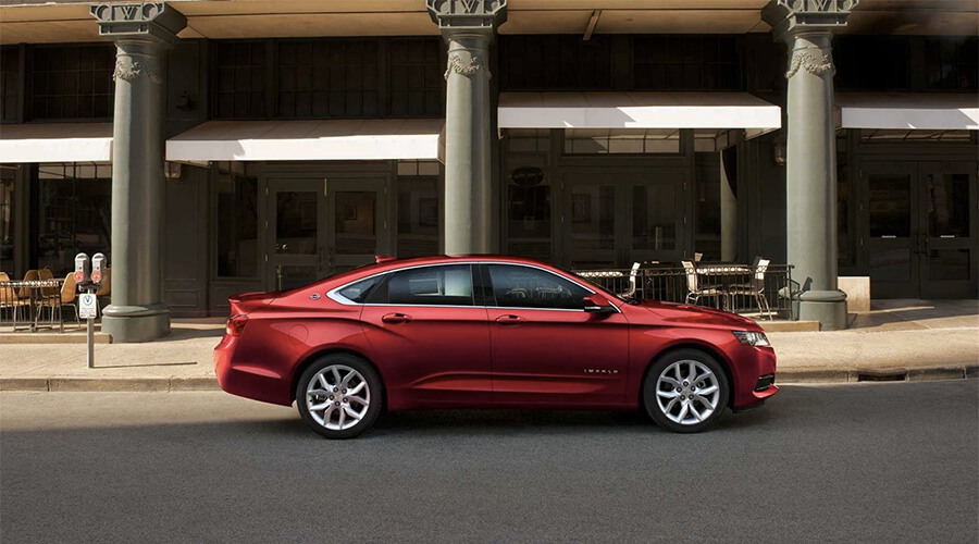 2017 Chevrolet Impala trims