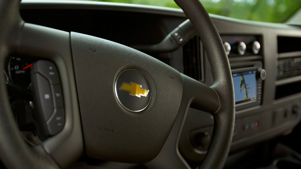 2016 Chevy Express steering wheel