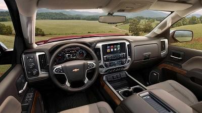 2016 Chevy Silverado 3500HD Interior