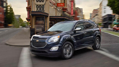 The 2016 Chevy Equinox Reviews for Bradenton and Memphis