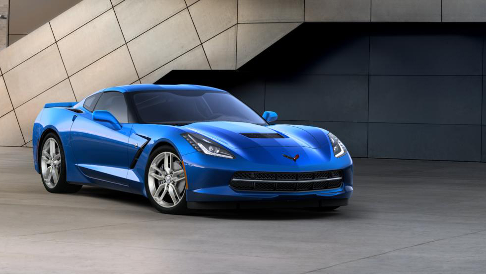 2016 Chevy Corvette Stingray Coupe 3LT