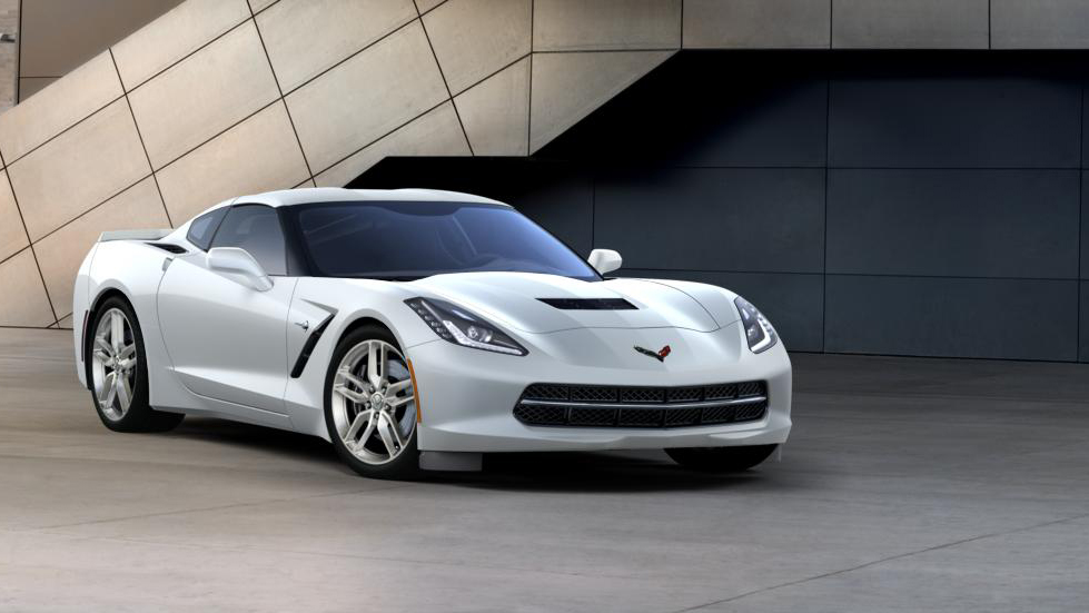 2016 Chevy Corvette Stingray Coupe Z51 1LT