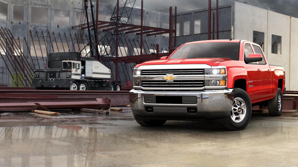 2016 Chevy Silverado 2500HD LT