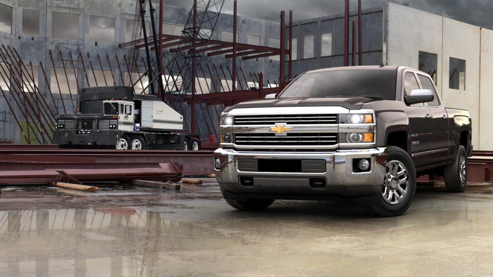 2016 Chevy Silverado 2500HD Truck Bed Configurations