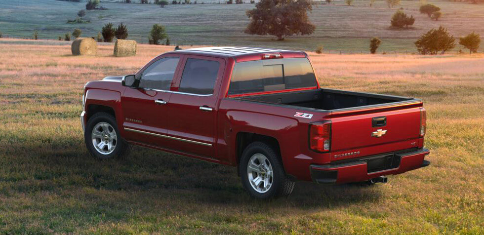 2016 Chevrolet SIlverado 1500 2LZ bed