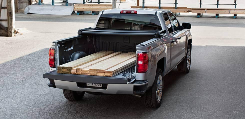 2016 Chevrolet Silverado 1500 truck bed